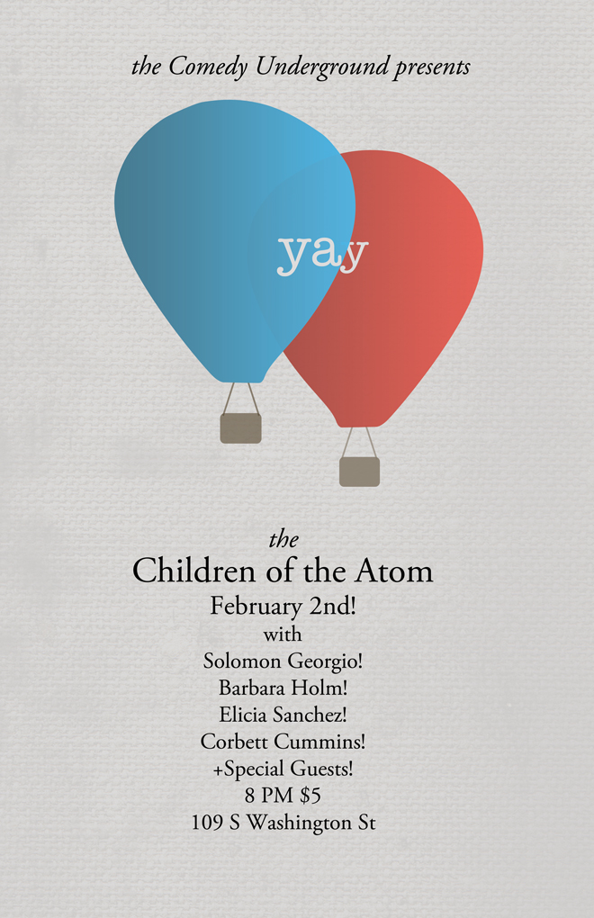 Children of the Atom at Comedy Underground