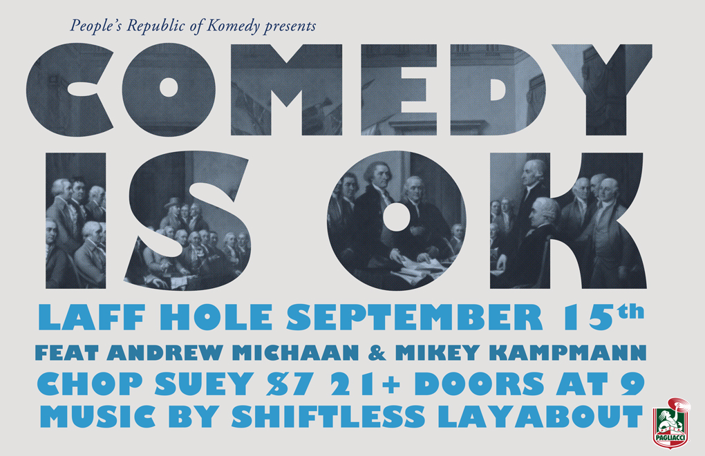 Laff Hole With Comedy Is OK