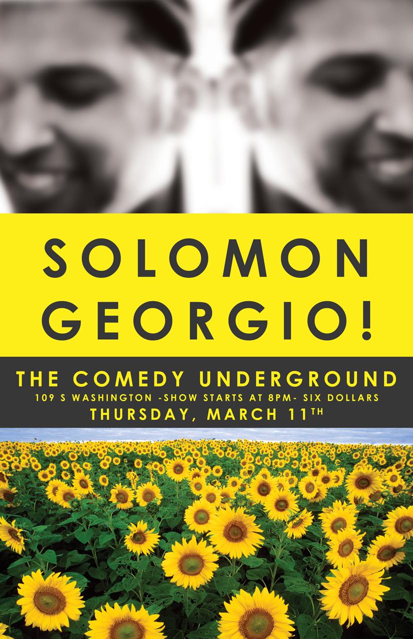 Solomon Georgio Comedy Underground II