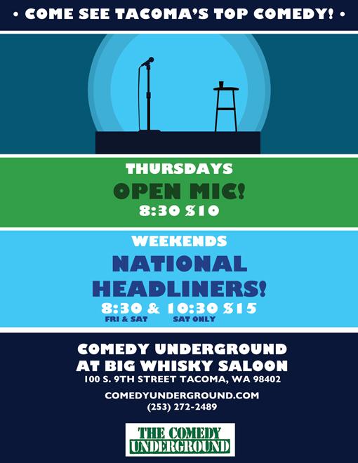 Tacoma Comedy Underground