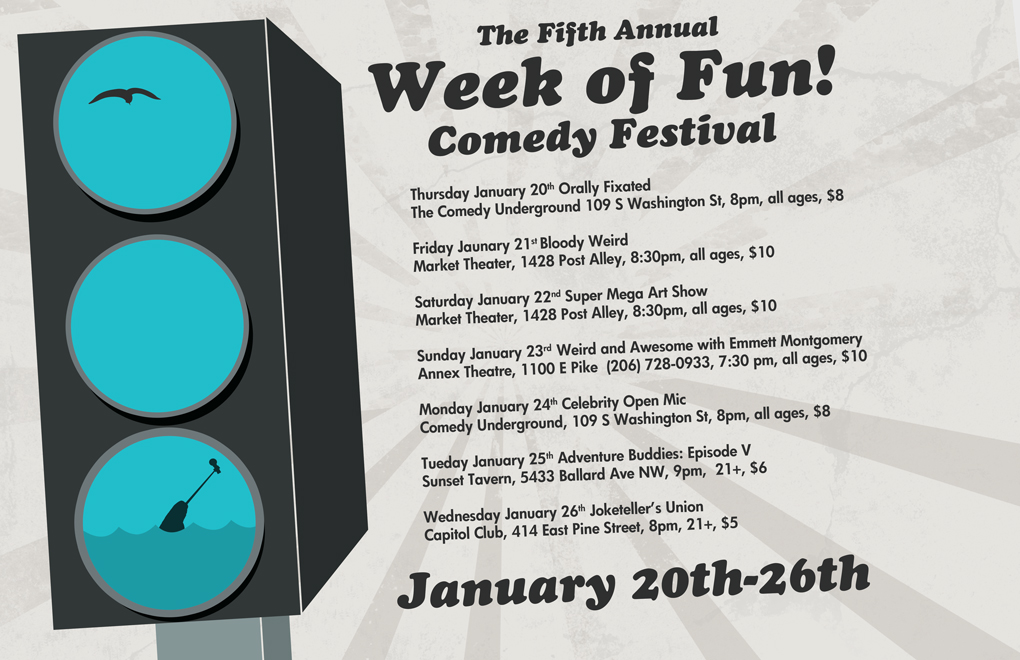 Fifth Annual Week of Fun Comedy Festival