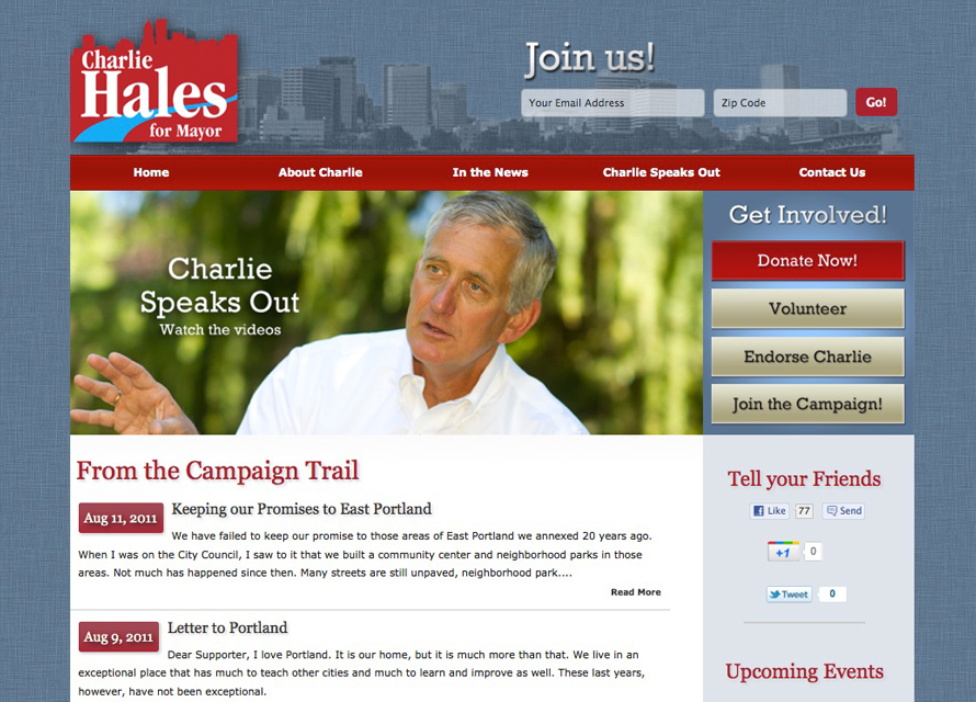 Charlie Hales for Portland Mayor