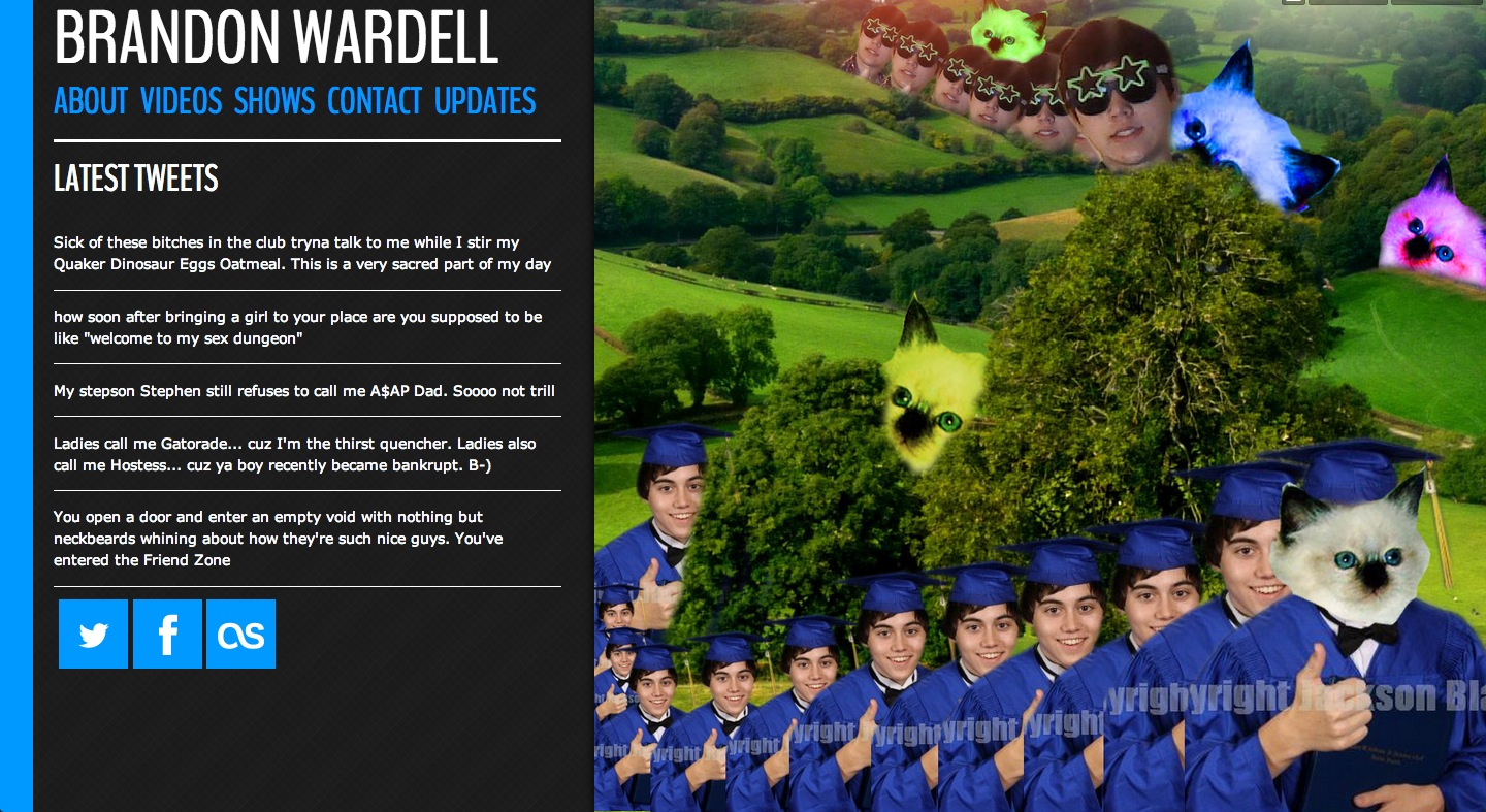 Brandon Wardell Website